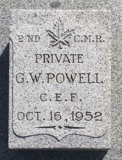 PVT George William Powell