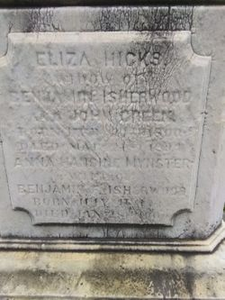 Eliza <I>Hicks</I> Isherwood