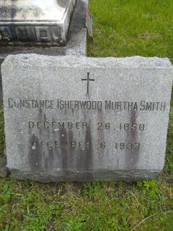Constance Murtha <I>Isherwood</I> Smith