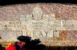 Maude Amy <I>Davis</I> Gray