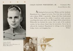 Maj Collin Batson Whitehurst Jr.