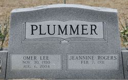 Alice Jeannine <I>Rogers</I> Plummer