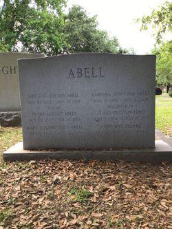 Barbara Ann <I>Ford</I> Abell