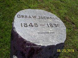 Orra W. Jackson