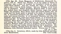 Margaret <I>Taylor</I> Stout