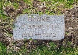 Jeannette M Dunne
