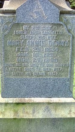 Mary Annie <I>Denny</I> Armfield