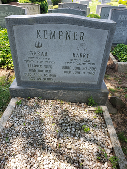 Sarah Kempner Unknown 1968 Find A Grave Memorial