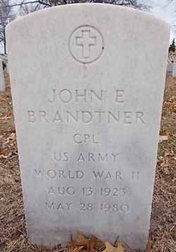 CPL John E Brandtner