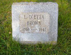 Lizzie D'Etta Brown