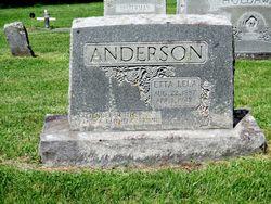 Etta Lela <I>Hash</I> Anderson