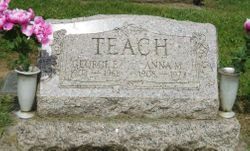 Anna May <I>Guessford</I> Teach