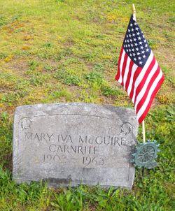 Mary Iva <I>McGuire</I> Carnrite