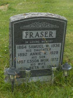 Reta Heuna <I>Redden</I> Fraser