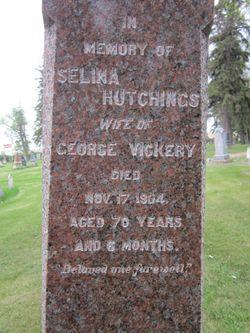 Selina <I>Hutchings</I> Vickery