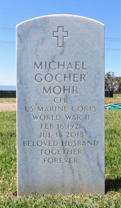 CPL Michael Gocher Mohr