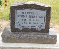 Marvel L. <I>Stone</I> Merriam