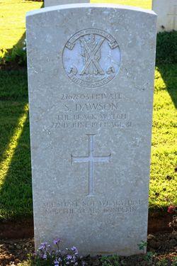 Pvt Sam Dawson