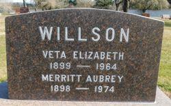 Veta Elizabeth <I>Lynch</I> Willson