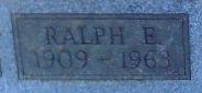 Ralph E. Albright