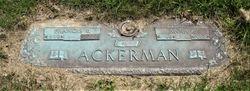 "Francis Ernest ""Red"" Ackerman"