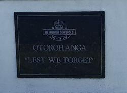Otorohanga Public Cemetery