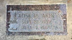 Rose Marie <I>Lenzen</I> Akin