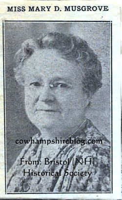 Mary Donker Musgrove