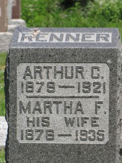 Martha F. <I>Chrisman</I> Renner