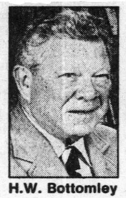 Harry William Bottomley