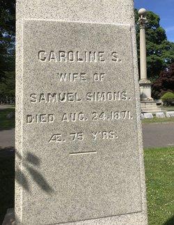 Caroline S Simons