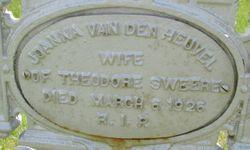 Johanna Maria <I>Van den Heuvel</I> Sweere