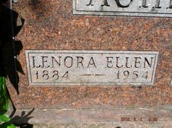 Lenora Ellen <I>Bertrand</I> Acheson