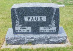 Anna <I>van Westen</I> Pauk