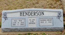 Laverne <I>Heldt</I> Henderson