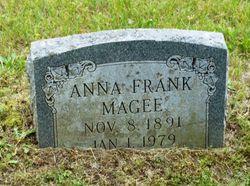 Anna <I>Frank</I> McGee