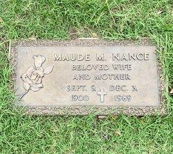 Maude Myrtle <I>Van Dorn</I> Nance