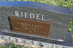 Clarence Edward Riedel