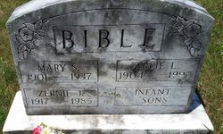 Mary Susan <I>Cullers</I> Bible