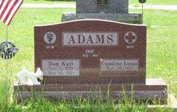 """Donald K. """"Don"""" Adams"""