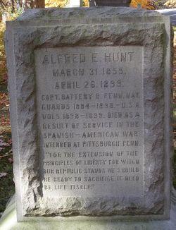 CPT Alfred E. Hunt