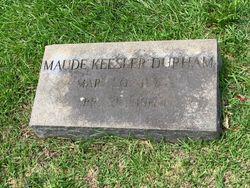 Anna Maude <I>Kessler</I> Durham