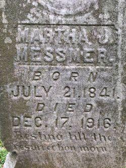Martha Jane <I>Chandler</I> Messmer