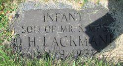 Infant son Lackmann