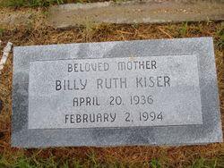 Billy Ruth Kiser