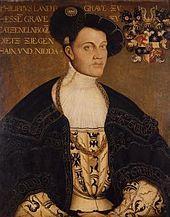 """Philipp I """"der Grossmütige"""" von Hessen"""