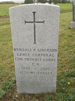 """Wendall Philip """"Poscal"""" Giberson"""