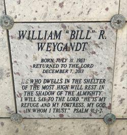 "William Ray ""Bill"" Weygandt"