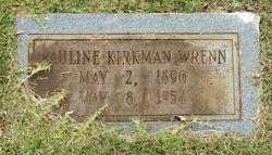 Margaret Pauline <I>Kirkman</I> Wrenn