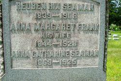 Anna Margaret <I>Frank</I> Seaman